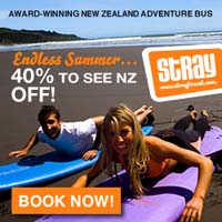 Backpacker bus NZ